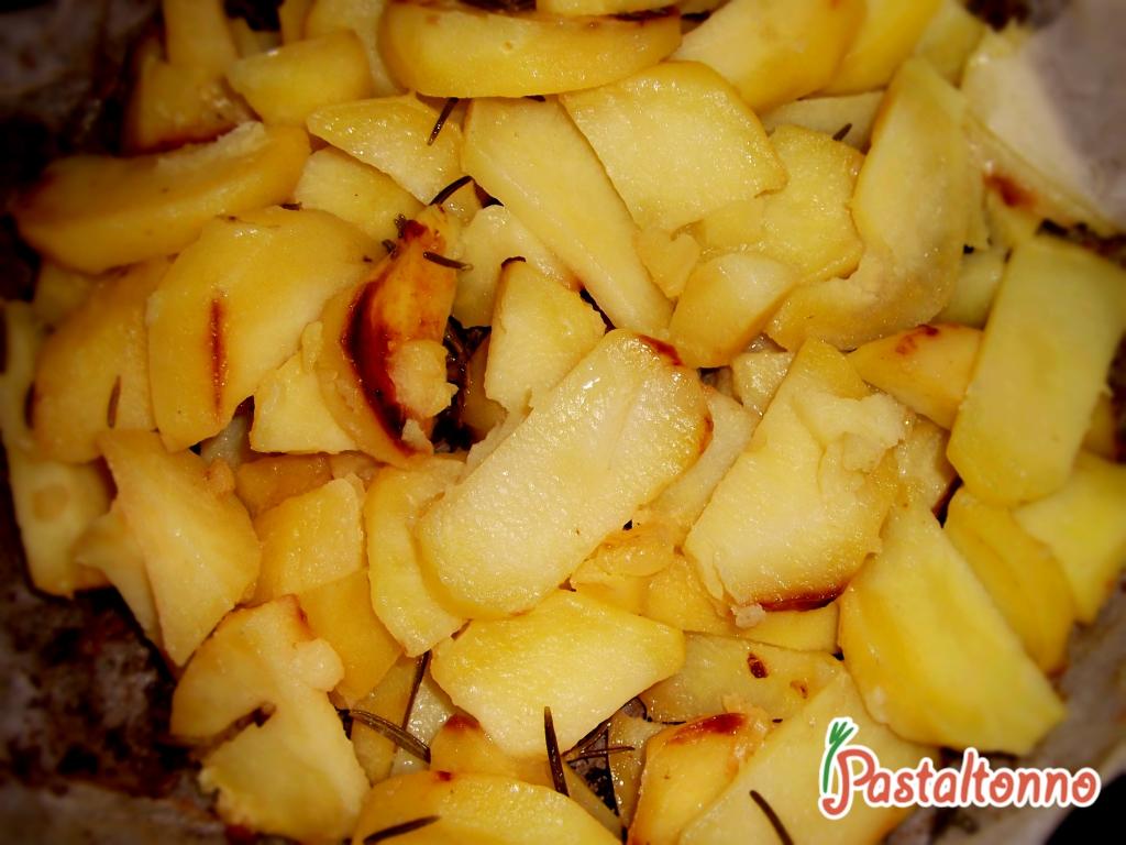 Contorno di patate al rosmarino